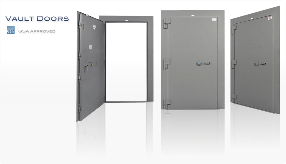 GSA Approved Class 5 Vault Door