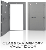 GSA Approved Class 5-A Armory Vault Door