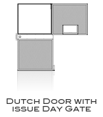 Class 5 Vault Door Dutch Door With Issue Port Day Gate