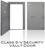 GSA Approved Class 5-V Security Vault Door